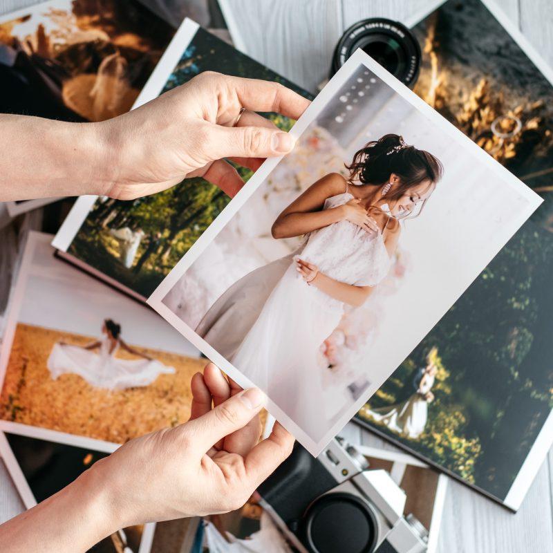 Fotografier från bröllop